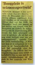 Bericht uit Ommelander, 21 juni 2012